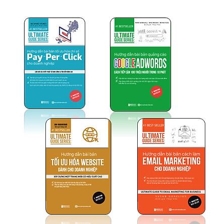 Bộ sách 4 cuốn DL Hướng dẫn bài bản, xây dựng chiến dịch quảng cáo, xây dựng một trang web có hiệu quả, xây dựng chiến dịch marketing chi phí thấp - hiệu quả cao DL