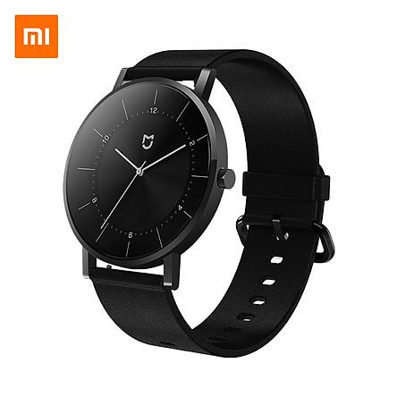 Đồng hồ Xiaomi Mijia Mi Quartz Phiên bản cổ điển Dây da bằng thép không gỉ 316L chống nước 3ATM