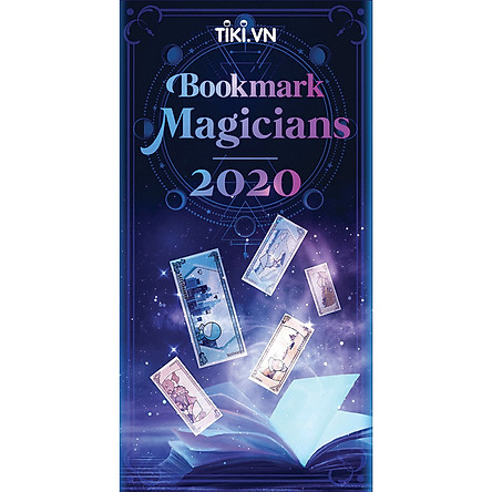 Bộ Bookmark Magicians 2020