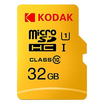 Thẻ Nhớ Kodak MicroSD Tốc Độ Nhanh (128GB)