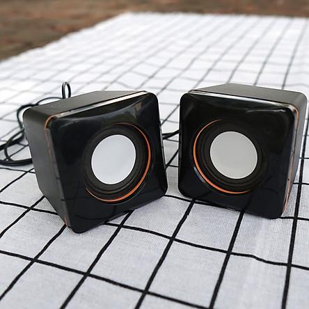 Loa vi tính xí ngầu mini dành cho điện thoại, cho máy tính bảng, cho laptop và cho máy tính để bàn aman