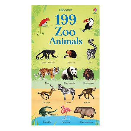 Usborne 199 Zoo Animals
