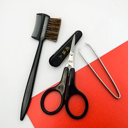 Bộ tỉa lông mày 3 món cao cấp Nhật KAI Seki Magoroku HC3534