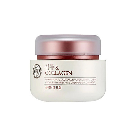 Kem Dưỡng THE FACE SHOP Pomegranate & Collagen Cream 100ml