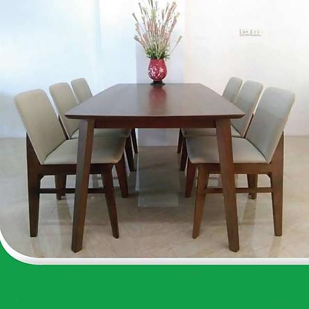 Bộ bàn ăn obama 6 ghế