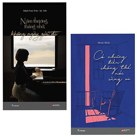Combo 2 Cuốn Tiểu Thuyết Lãng Mạn :  Năm Thương Tháng Nhớ Không Ngày Gửi Đi + Có Những Điều Chẳng Thể Nói Cùng Ai ( Đâu Ai Muốn Chuyện Tình Mãi Chỉ Là Đơn Phương )