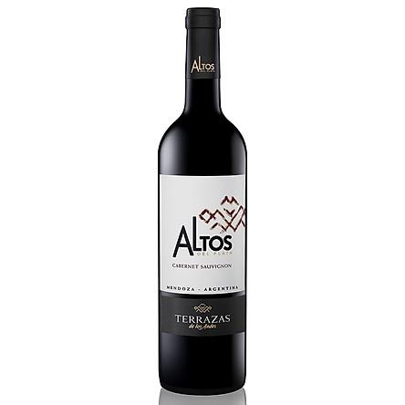 Rượu vang đỏ Terrazas Altos Cabernet Sauvignon 14.5% 750ml – Không hộp