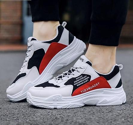 Giày Nam, Sneaker Thể Thao - Kiểu Dáng Trẻ Trung, Hiện Đại