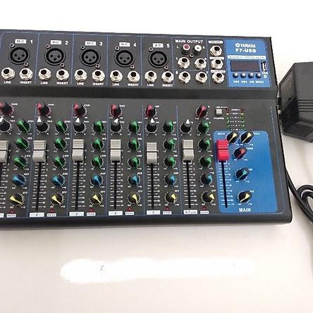 Mixer YAMAHA F7 USB phiên bản mới Bluetooth nhập khẩu