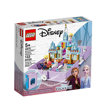 Lego Frozen II Storybook of Anna and Elsa