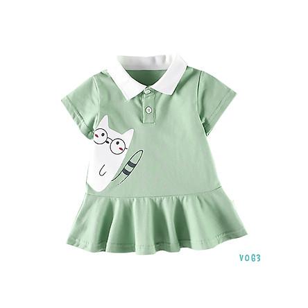 Váy Bé Gái Xoè Cotton In Hình Siêu Đáng Yêu Bello Land