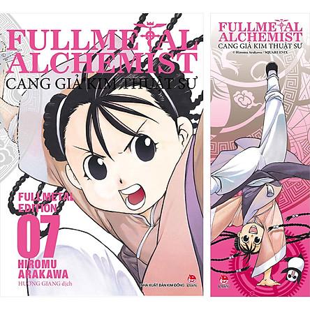 Fullmetal Alchemist - Cang Giả Kim Thuật Sư - Fullmetal Edition Tập 7 [Tặng Kèm Bookmark]