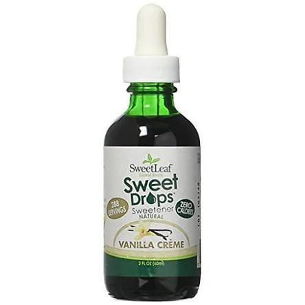 SweetLeaf Liquid Stevia, Clear, Vanilla, 2 Fluid Ounce