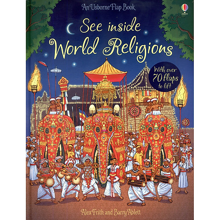 Usborne See Inside World Religions (With Over 70 Flaps to Lift)