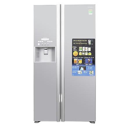 Tủ lạnh SBS Hitachi R-FS800GPGV2 (GS) - 605 Lít - Hàng chính hãng
