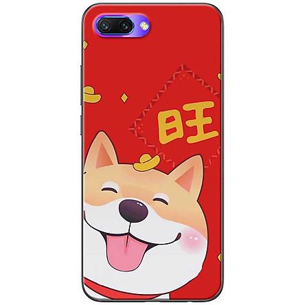 Ốp lưng dành cho  Honor 10  mẫu Chó Shiba thỏi vàng