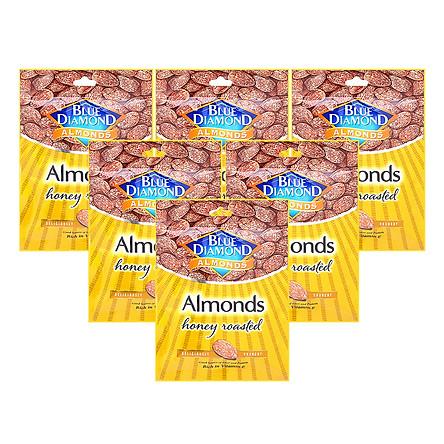 Combo 6 Gói Hạnh Nhân Blue Diamond - Mật Ong (30g)