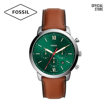 Đồng hồ nam Fossil Neutra dây da FS5735 - màu nâu