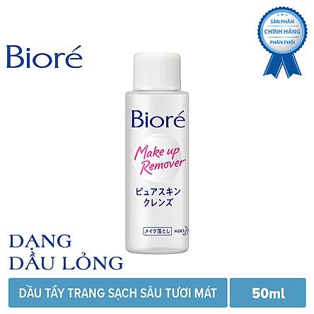 Dầu Tẩy Trang Sạch Sâu Tươi Mát Biore Make Up Remover Pure Skin Cleanse (50ml)