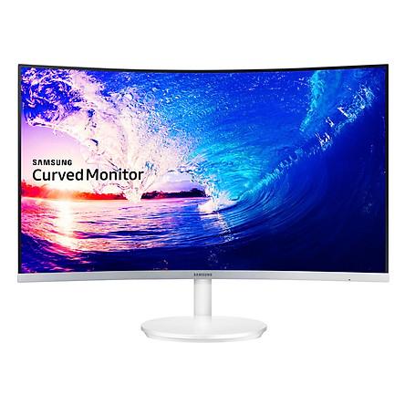 Màn Hình Cong Samsung LC27F581FDEXXV 27inch FullHD 4ms 60Hz FreeSync VA - Hàng Chính Hãng