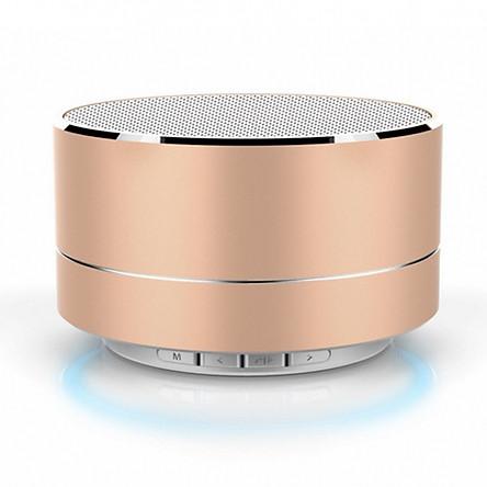 Loa Bluetooth Mini MSTK10 Vỏ Nhôm Có Đèn Led, hỗ trợ thẻ nhớ, usb
