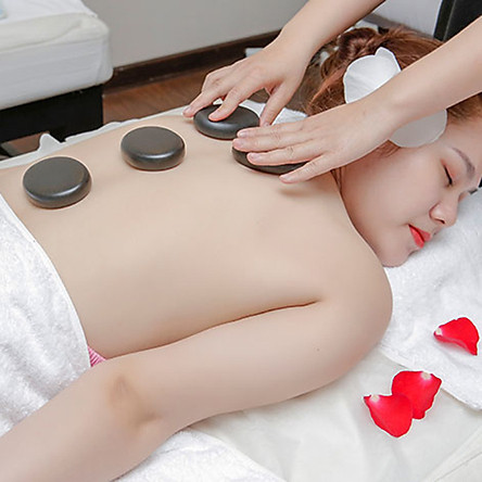 Liệu Trình 60 Phút Massage Thư Giãn Với Đá Nóng Tại Ven Ven Massage & Spa