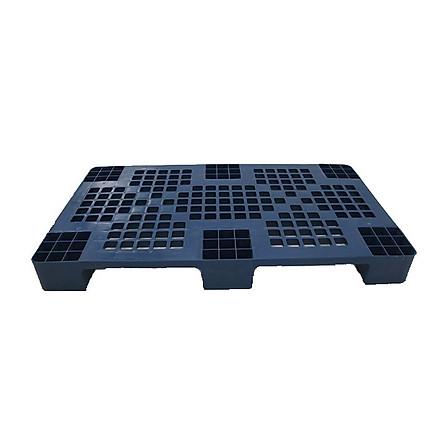 Pallet nhựa KV-1000x600x100mm xanh