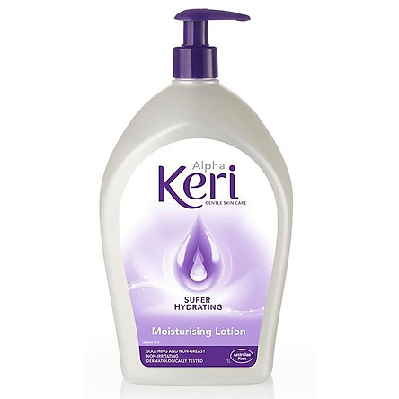 Alpha Keri Super Hydrating Moisturising Lotion 1 Litre