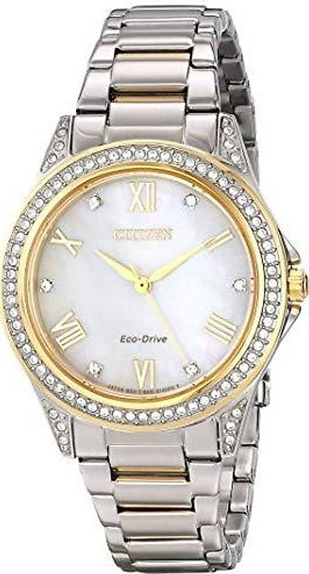 Drive from Citizen Eco-Drive Women's Watch with Swarovski Crystal Accents, EM0234-59D