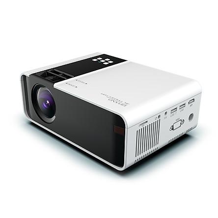 Multimedia Projector LCD Projector Smart Support 1080P HDMI/AV/USB/TF/VGA Media Player Home Cinema