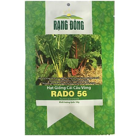 Hạt Giống Cải Cầu Vồng Rado 56