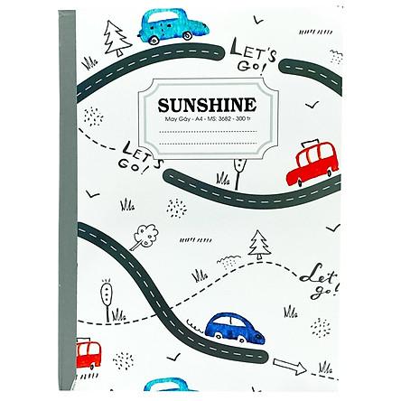 Sổ May Gáy Sunshine A4 300 Trang 3682- Let's Go