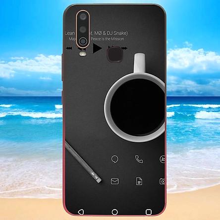 Ốp điện thoại dành cho máy Vivo Y12 - dòng thời gian MS CAFE011
