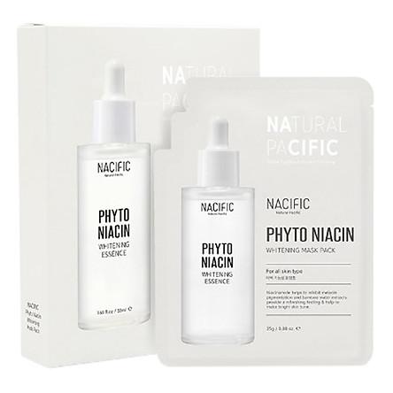 Mặt Nạ NACIFIC Phyto Niacin Whitening Mask Pack(10ea) | Tiki