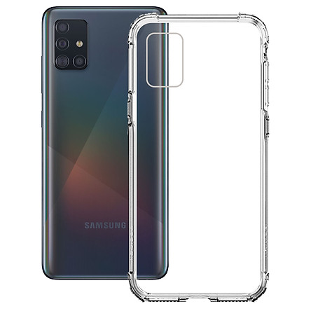 Ốp Lưng Chống Sốc cho Samsung Galaxy A51 - 04068 Dẻo Trong - Hàng Chính Hãng
