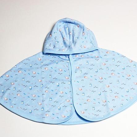 Áo Khoác, Choàng Cánh Dơi Có Nón Baby Mommy (Đồ Dùng Giữ Ấm, Che Nắng Cho Bé Sơ Sinh 7-12kg)