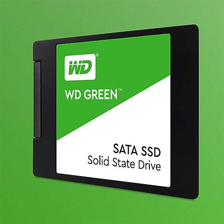 Ổ Cứng SSD WD Green - 120GB WDS120G1G0A - Hàng chính hãng