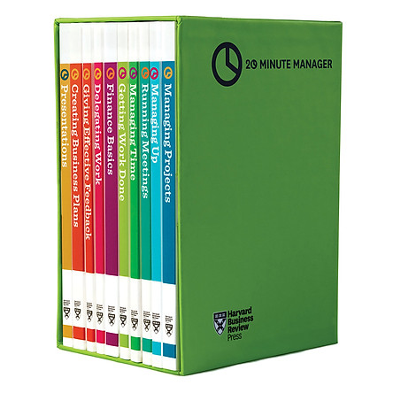Harvard Business Review 20 Minute Manager Series Boxed Set (10 Books)