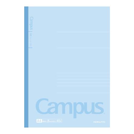 Japan Kokuyo (KOKUYO) Campus Wireless Binding · Classic New Series 8mm Horizontal Line A4/40 Page 5 / Package WCN-CNB2410