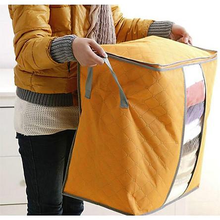 Túi đựng chăn màn dáng đứng , đựng quần áo, đồ tiện dụng GD181-TCM-Dung ( giao ngẫu nhiên)