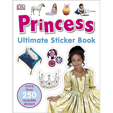 Ultimate Sticker Book Princess