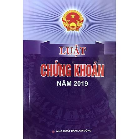 Sách - Luật chứng khoán năm 2019