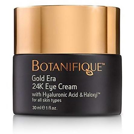 Kem dưỡng ẩm tinh chất vàng 24K trẻ hóa da mắt Botanifique -gold era 24k eye cream