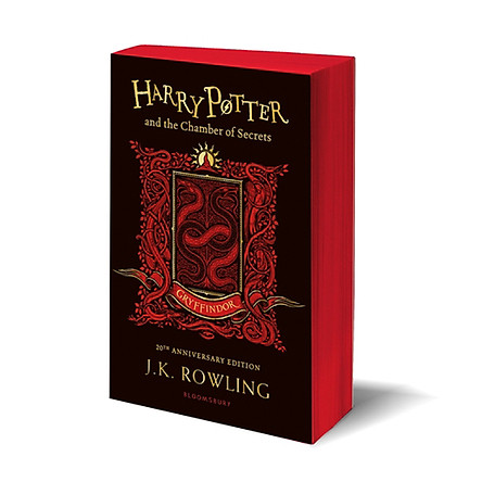 Harry Potter Part 2: Harry Potter And The Chamber Of Secrets (Paperback) - Gryffindor Edition - Harry Potter và Phòng chứa bí mật (English Book)