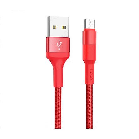 Cáp sạc Micro USB Hoco X26 dây dù chống đứt cao cấp