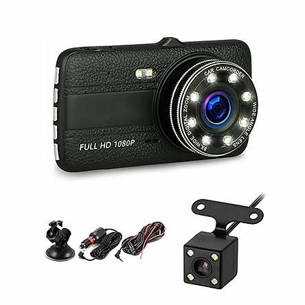Camera Hành trình ô tô trước sau Full HD 1080P - Tích hợp 8 LED