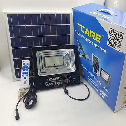 Đèn Led Năng lượng mặt trời Tcare 60W - Hàng Chính Hãng