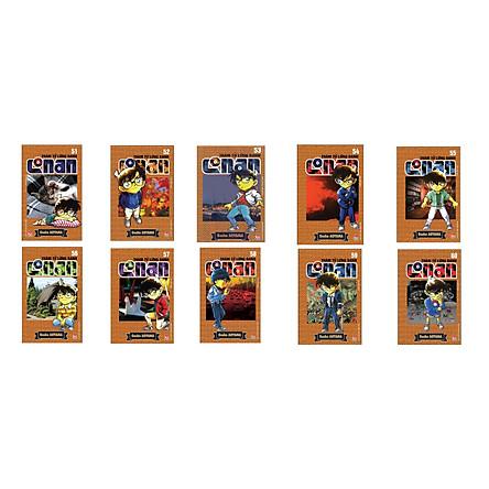 Combo Thám Tử Lừng Danh Conan Tập 51 - 60 (Bộ 10 cuốn)