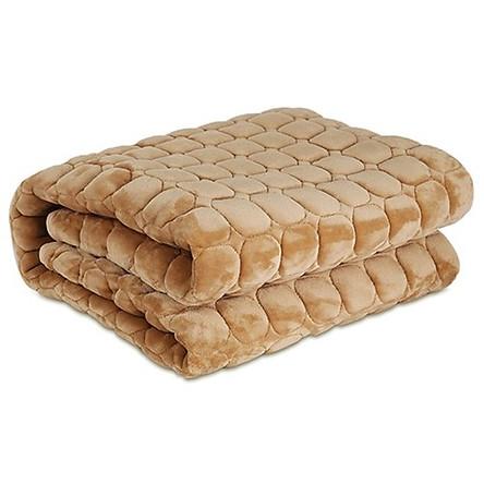 Thảm trải giường lông-Nệm trải giường 1m8x2m(giao màu ngẫu nhiên)