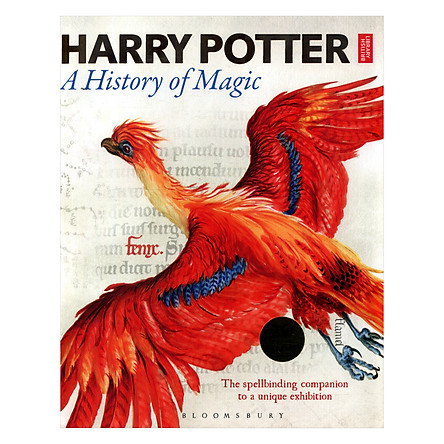 Harry Potter: A History Of Magic (Hardback) Lịch sử ma thuật (English Book)